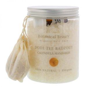 Pedicuresalon Janice - Natuurlijke huidverzorging - Botanical Beauty - Calendula Mandarijn Dode Zee Badzout 850 gram