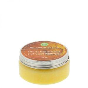 Pedicuresalon Janice - Natuurlijke huidverzorging - Botanical Beauty - Calendula Mandarijn Multi Use Butter 100 ml