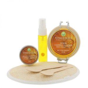 Pedicuresalon Janice - Natuurlijke huidverzorging - Botanical Beauty - Calendula Mandarijn Natuurlijk Mooi Body Hands Feet Pakket