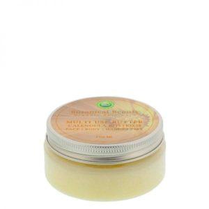 Pedicuresalon Janice - Natuurlijke huidverzorging - Botanical Beauty - Calendula Rijstkiem Multi Use Butter 100 ml
