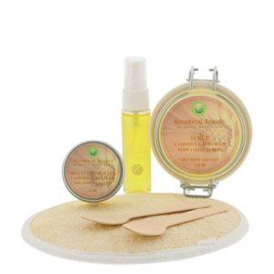 Pedicuresalon Janice - Natuurlijke huidverzorging - Botanical Beauty - Calendula Rijstkiem Natuurlijk Mooi Body Hands Feet Pakket