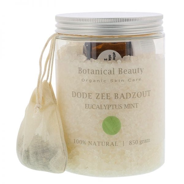 Pedicuresalon Janice - Natuurlijke huidverzorging - Botanical Beauty - Eucalyptus Mint Rozemarijn Dode Zee Badzout 850 gram