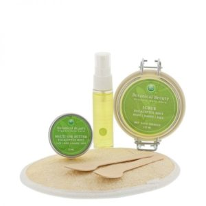 Pedicuresalon Janice - Natuurlijke huidverzorging - Botanical Beauty - Eucalyptus Mint Rozemarijn Natuurlijk Mooi Body Hands Feet Pakket