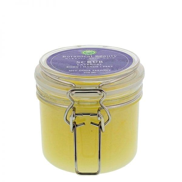 Pedicuresalon Janice - Natuurlijke huidverzorging - Botanical Beauty - Lavendel Body Scrub 350 ml