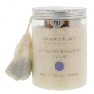 Pedicuresalon Janice - Natuurlijke huidverzorging - Botanical Beauty - Lavendel Dode Zee Badzout 850 gram