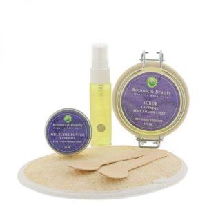 Pedicuresalon Janice - Natuurlijke huidverzorging - Botanical Beauty - Lavendel Natuurlijk Mooi Body Hands Feet Pakket