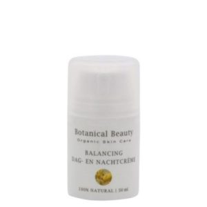 Pedicuresalon Janice - Natuurlijke huidverzorging - Botanical Beauty - Argania Balancing Dag- en Nachtcrème 50 ml