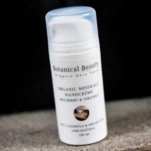 Pedicuresalon Janice - Natuurlijke huidverzorging - Botanical Beauty - Organic Minerals Handcrème 100 ml
