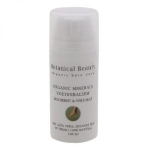 Pedicuresalon Janice - Natuurlijke huidverzorging - Botanical Beauty - Organic Minerals Voetenbalsem 100 ml