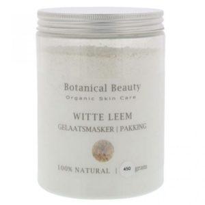 Pedicuresalon Janice - Natuurlijke huidverzorging - Botanical Beauty - Witte Leem 450 gram
